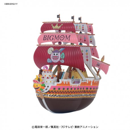 Figurine One Piece Maquette Grand Ship Collection Queen Mama Chanter