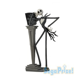 Figurine L'Étrange Noël De Mr Jack Skellington LPM Diorama Jack Skellington 2018