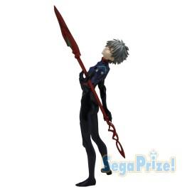 Figurine Rebuild of Evangelion 3.0 Premium Figure Nagisa Kaworu & Lance de Cassius