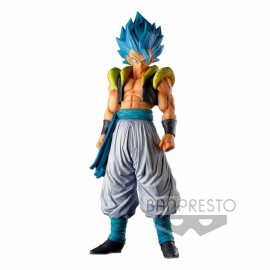 Figurine Dragon Ball Z Super Master Stars Piece Gogeta SSJ Blue The Brush I *PRECO*