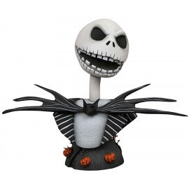 Buste L'étrange Noël de Mr. Jack Legends in 3D 1/2 Jack Skellington