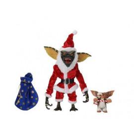 Figurine Gremlins pack 2 figurines Santa Stripe et Gizmo