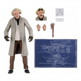 Figurine Retour Vers le Futur Ultimate Doc Brown