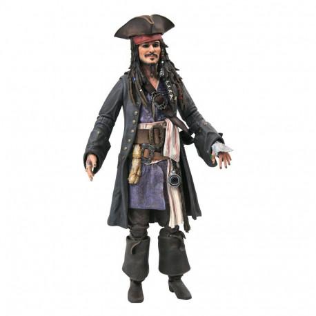 Figurine Pirates des Caraïbes Deluxe Jack Sparrow