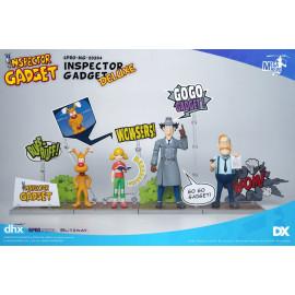 Pack de 4 figurines Inspecteur Gadget 1/12 Mega Hero Inspector Gadget