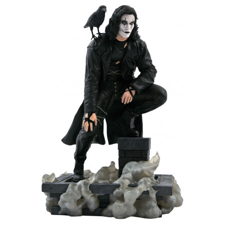 Statuette The Crow Movie Gallery Rooftop Diorama