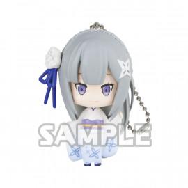 Porte-clés figurine Re:Zero Collection Figure Kimono Version Emilia