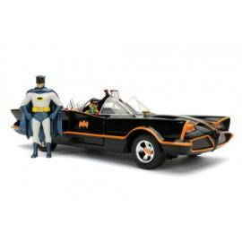 Réplique DC Comics 1966 Classic TV Series 1/24 Batmobile métal avec figurine