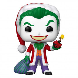 Figurine DC Comics POP! DC Holiday: The Joker as Santa