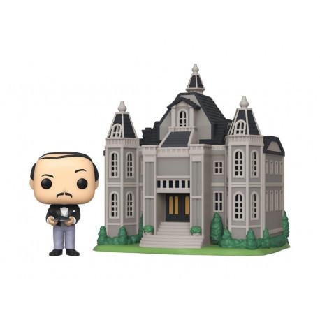 Figurine Batman 80th POP! Town! Alfred Pennyworth with Wayne Manor