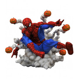 Statuette Marvel Gallery Spider-Man Pumpkin Bombs