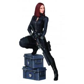 Statuette Marvel Captain America Le Soldat de l´hiver Black Widow