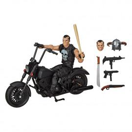 Figurine avec Véhicule Marvel Legends Series 2020 The Punisher