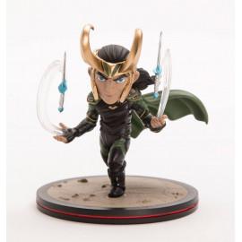 Figurine Marvel Q-Fig Thor Ragnarok diorama Loki