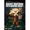 Figurine Marvel Les Gardiens de la Galaxie Egg Attack figurine Rocket Raccoon with Dancing Groot