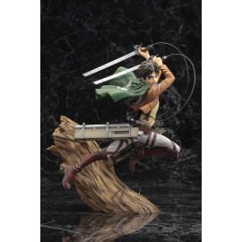 Statuette L'Attaque des Titans ARTFX J 1/8 Eren Yeager Renewal Package Version
