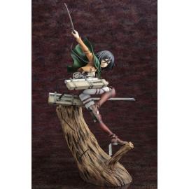 Statuette L'Attaque des Titans ARTFX J 1/8 Mikasa Ackerman Renewal Package Version