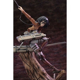 Statuette L'Attaque des Titans ARTFXJ 1/7 Levi Fortitude Version
