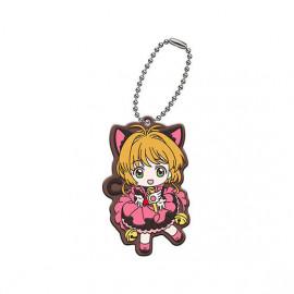 Porte Clés Cardcaptor Sakura Clear Card-hen Assort Collection Rubber Mascot Sakura Kinomoto