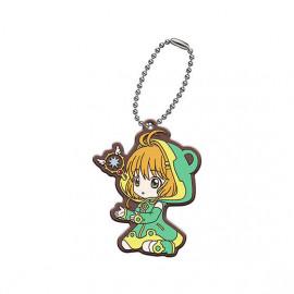 Porte Clés Cardcaptor Sakura Clear Card-hen Assort Collection Rubber Mascot Sakura Kinomoto Version C