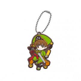Porte Clés Cardcaptor Sakura Clear Card-hen Assort Collection Rubber Mascot Syaoran Li