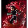 Statuette Demon Slayer Figuarts Zero Tanjiro Kamado Hinokami Kagura