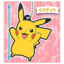 Porte-clés en caouchouc Pokémon Rubber Mascot 15 Pikachu
