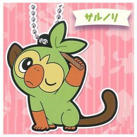 Porte-clés en caouchouc Pokémon Rubber Mascot 15 Ouistempo