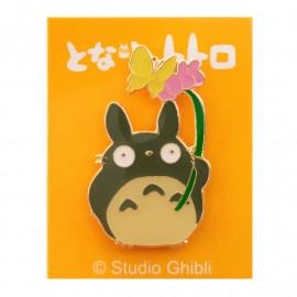 Pins Badge Mon Voisin Totoro Big Totoro & Fleur