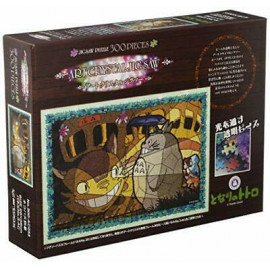 Puzzle Art Crystal Jigsaw Mon voisin Totoro Cat Bus Arrival
