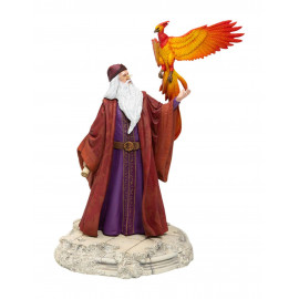 Statuette Harry Potter Dumbledore with Fawkes