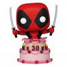 Figurine Marvel Deadpool 30th Anniversary POP! Deadpool in Cake