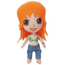 Figurine en peluche beanie One Piece Nami