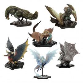 Boîte de 6 figurines Monster Hunter CFB MH Standard Model Plus The Best Vol. 12-14