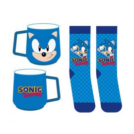 Coffret Chausettes et Mug Sonic the Hedgehog