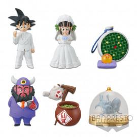 Lot de 6 figurines Dragon Ball WCF Collection Treasure Rally Volume 1