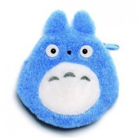 Porte-monnaie peluche Mon Voisin Totoro Totoro Bleu
