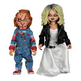 Pack de 2 figurines La Fiancée de Chucky Clothed Chucky & Tiffany