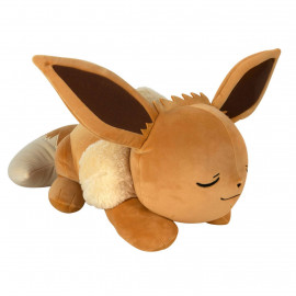 Peluche oreiller Pokémon Evoli endormi