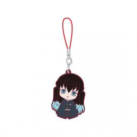 Porte-clés en caoutchouc Demon Slayer Capsule Rubber Mascot 5 Muichiro Tokito