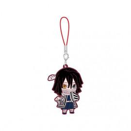 Porte-clés en caoutchouc Demon Slayer Capsule Rubber Mascot 5 Obanai Iguro