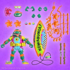 Figurine Les Tortues Ninja Ultimates Sewer Surfer Mike