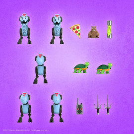 Figurine Les Tortues Ninja Ultimates Mousers