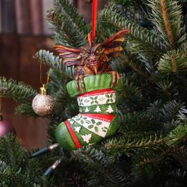Décoration pour sapin de Noël Gremlins Mohawk in Stocking