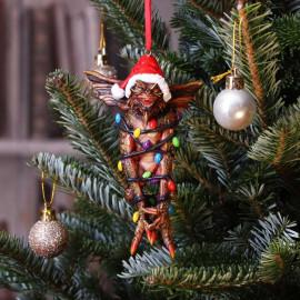 Décoration pour sapin de Noël Gremlins Mohawk in Fairy Lights