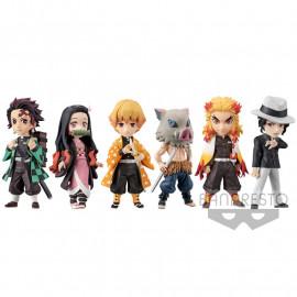Lot de 6 figurines Kimetsu no Yaiba WCF Vol.3 Special