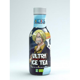 Bouteille de thé glacé bio One Piece Ultra Ice Tea Fruits Rouges Sanji