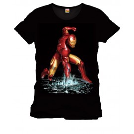 T-Shirt Marvel Comics Iron Man Fist