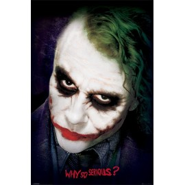 Poster Batman The Dark Knight Joker Face