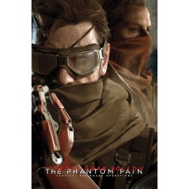Poster Metal Gear Solid V The Phantom Pain Googles